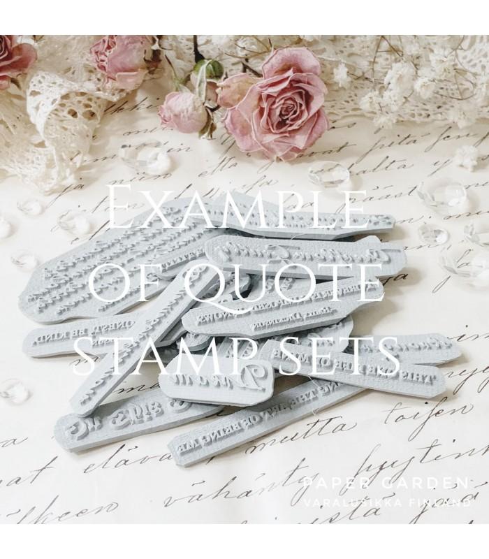 PG - Dream Quotes, Leimasinsetti 4.