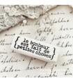 CLP Le bonheur est fait de petites choses Rubber Stamp