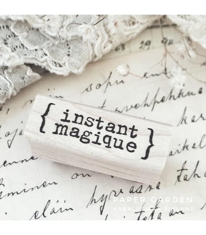 CLP Instant Magique Rubber Stamp