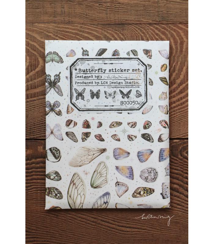 LCN - Butterfly Sticker Set