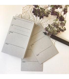 Classiky Address Card