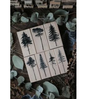 LCN - Forest Rubber Stamps Vol. 1. -leimasinsetti