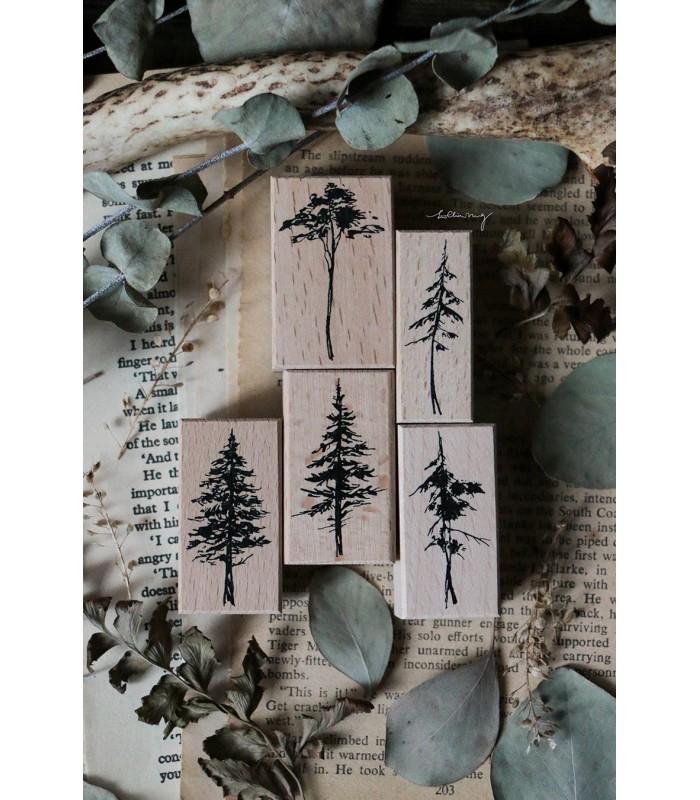 LCN - Forest Rubber Stamps Vol. 2. -leimasinsetti