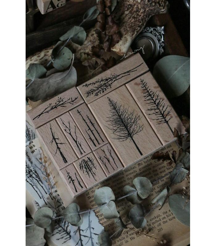 LCN - Forest Rubber Stamps Vol. 3. -leimasinsetti