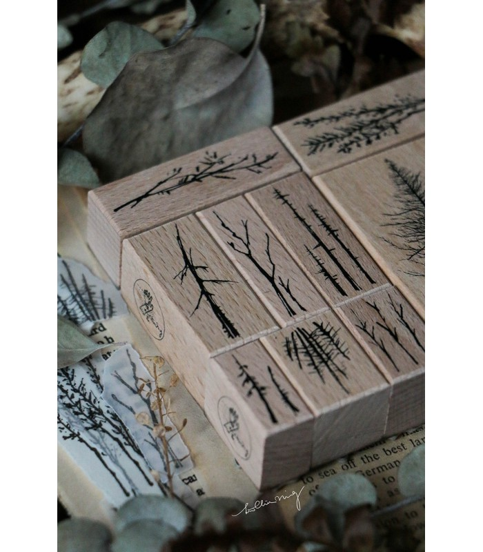 LCN - Forest Rubber Stamps Vol. 3