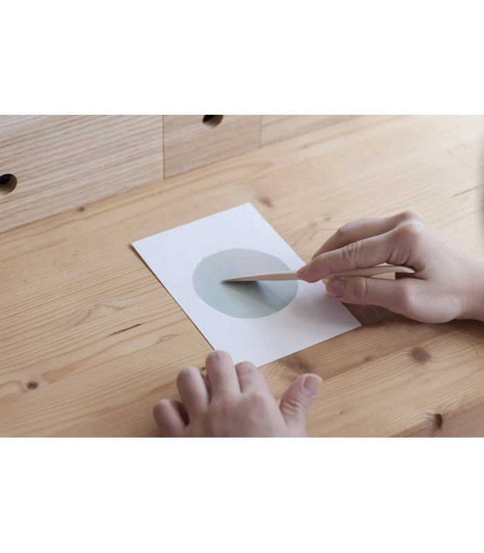 MU - Wooden Tool for Print-On Stickers