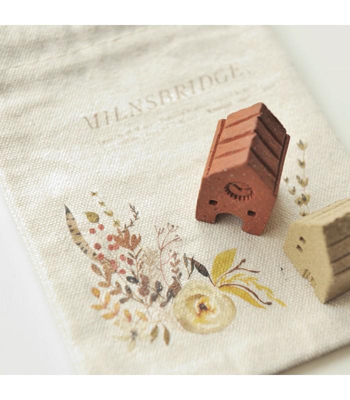MU - Printing Sticker Set with Drawstring Pouch