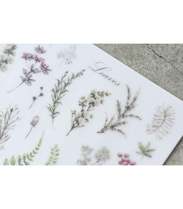 MU - Print-On Stickers 1055, Botanical Herbs