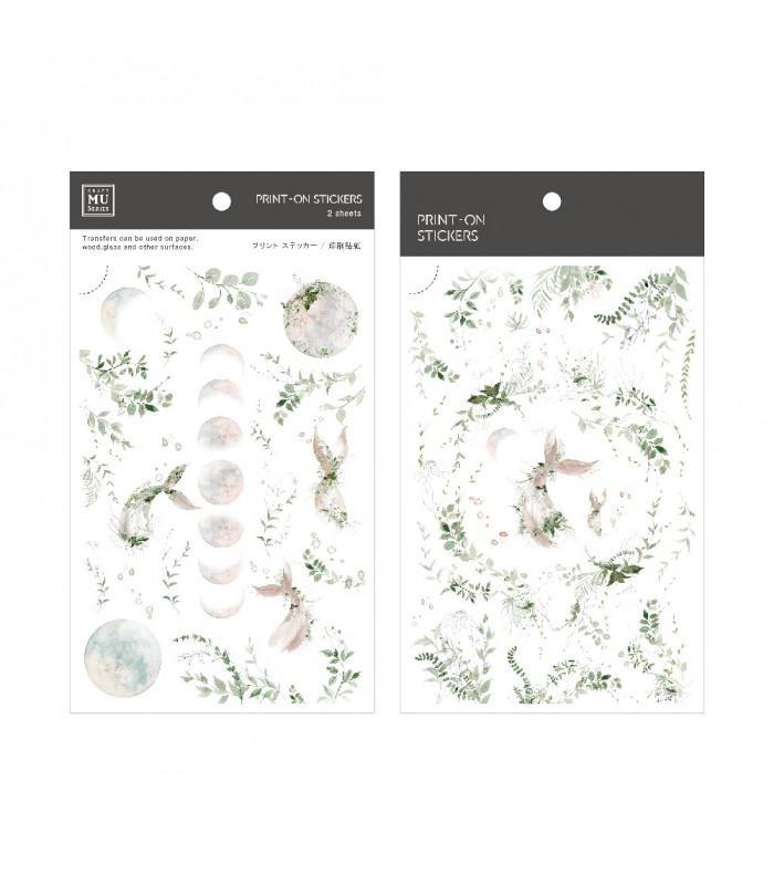 MU - Print-On Stickers 1090, Mermaid
