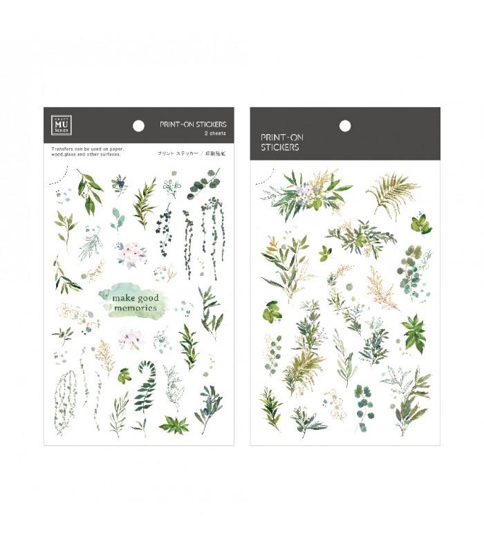 MU - Print-On Stickers 1105, Make Good Memories