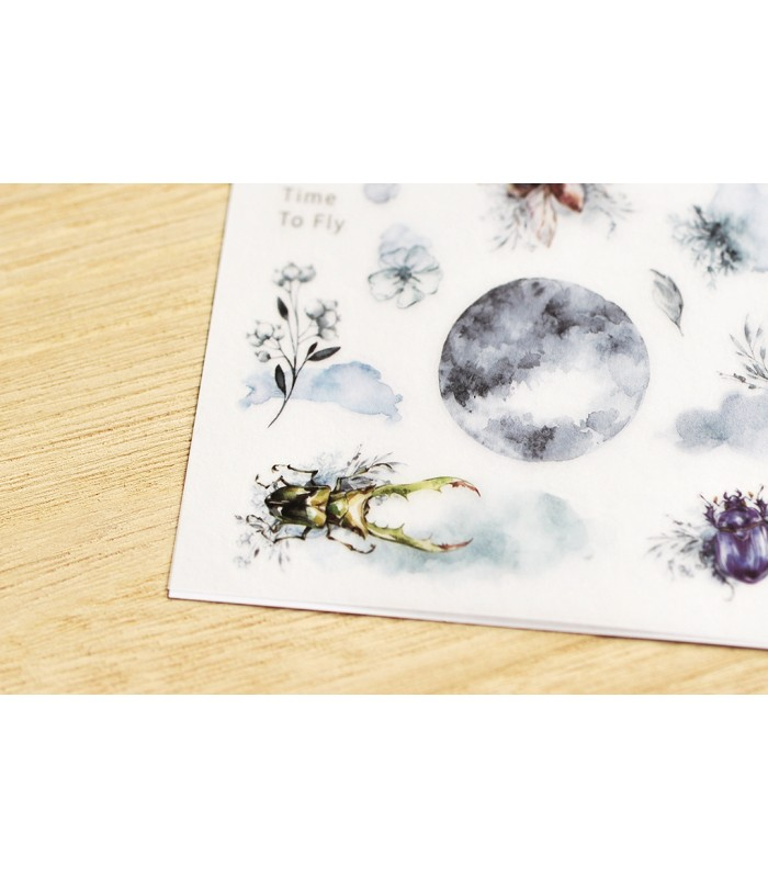 MU - Print-On Stickers 1125, Blue Moon