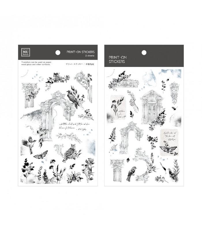 MU - Print-On Stickers 1131, Garden Gates