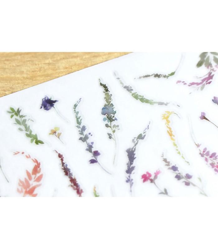 MU - Print-On Stickers 1147, Happiness Flowers
