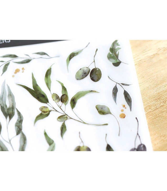MU - Print-On Stickers 1156, Olive Branches