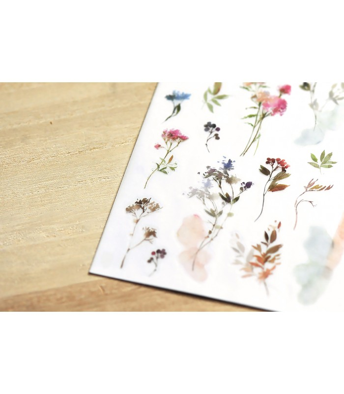 MU - Print-On Stickers 1159, Meadow Flowers