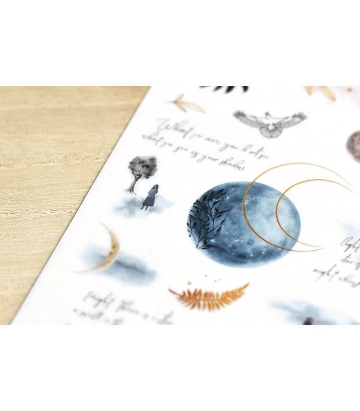 MU - Print-On Stickers 1163, Moonlight
