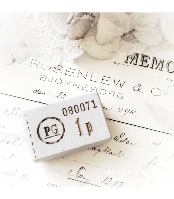 PG Rubber Stamp Merkki