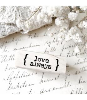 CLP Love Always Rubber Stamp