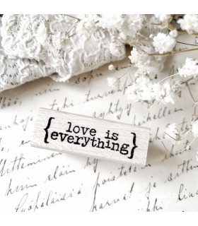 CLP Love Is Everything Rubber Stamp