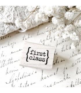 CLP First Class Rubber Stamp