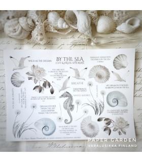 PG By the Sea Cut & Paste Sticker Sheet