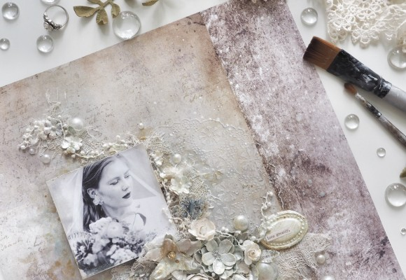How To Create a Collage on Scrapbook Paper