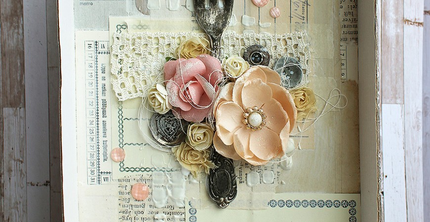 Guest Project by Paperiliitin: Shadow box