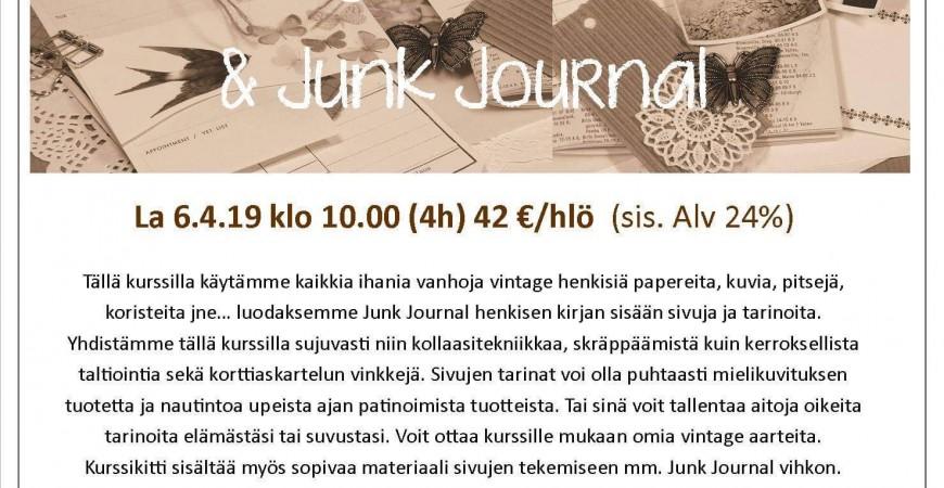 Jehkotar Workshop: Old Memories, Vintage Treasures and Junk Journal