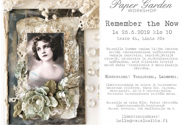 Paper Garden Workshop: Remember the Now