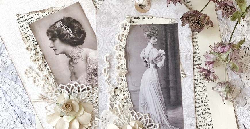 Vintage Tag Tutorial - Beige Dreams