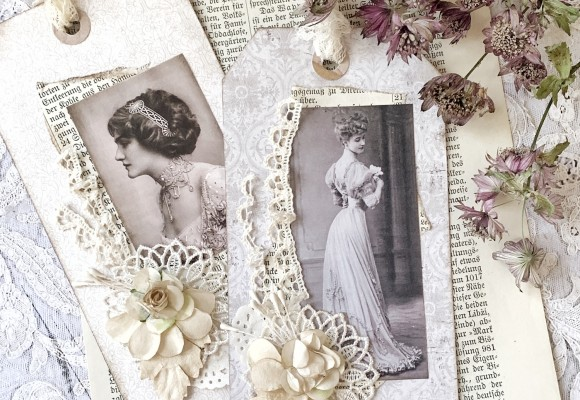 Vintage Tag Tutorial - Beige Dreams