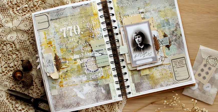 DT Varalusikka: Art Journaling by Riikka