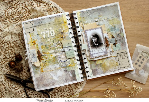 DT Varalusikka: Art Journaling by Riikka